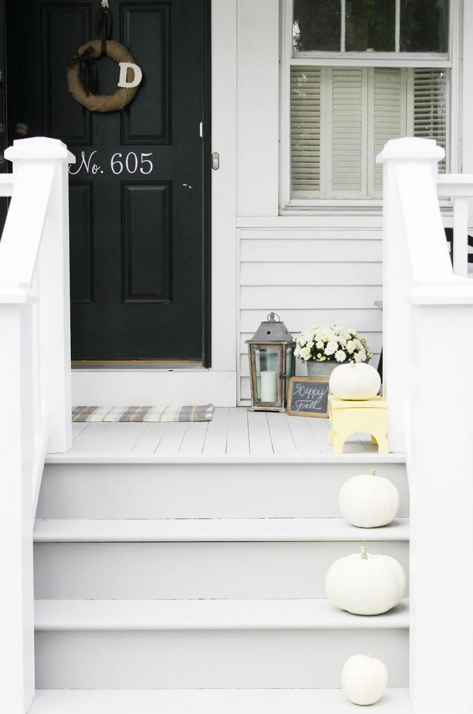 hermosos porches frontales de otoño 15 Ideas De Decoracin Baratas Y Lindas De Otoo En El